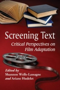Couverture |Screening Text - Critical Perspectives on Film Adaptation